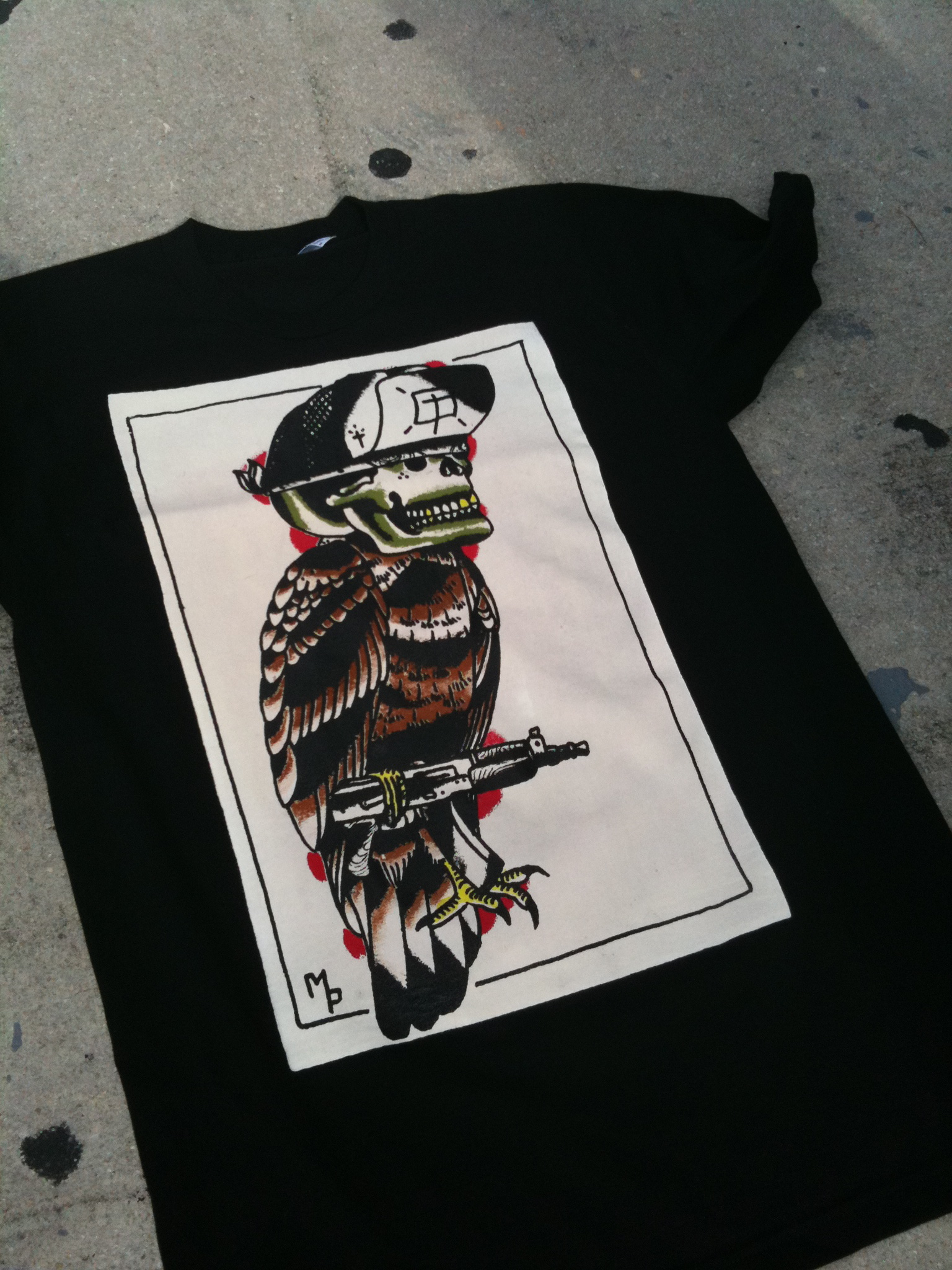 Gangster Bird Tee